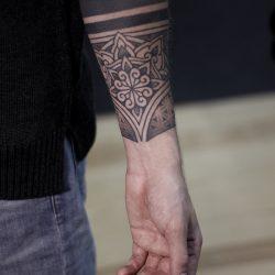 Tattoo Mandala Unterarm Mann