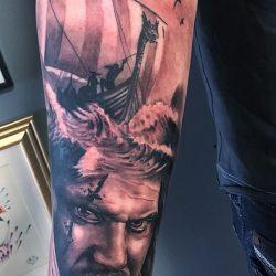 Wikinger Und Seefahrer Tattoo