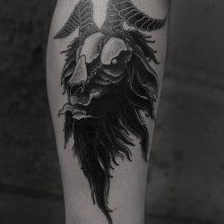 Widderkopf Tattoo