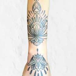 Feines Arm Mandala Ornament