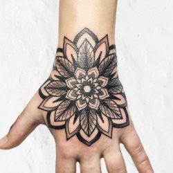 Handjob Tattoo Mandala