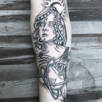 Spirituelles Tattoo