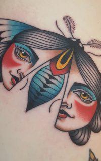 Old School Motte Tattoo