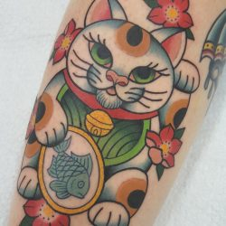 Kirschblüten Tattoo