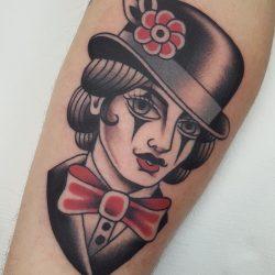 Clown Tattoo Old School